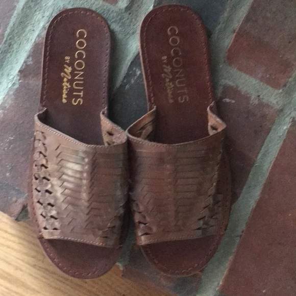 Coconuts by Matisse Shoes - Brown leather sandals